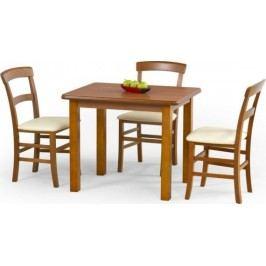 Halmar Jídelní stůl Dinner 90 Antická třešeň + kupón KONDELA10 na okamžitou slevu 10% (kupón uplatníte v košíku)