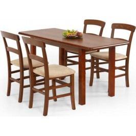 Halmar Jídelní stůl Dinner 120/158 Olše + kupón KONDELA10 na okamžitou slevu 10% (kupón uplatníte v košíku) Jídelní stoly