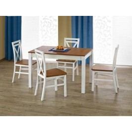 Halmar Jídelní stůl Ksawery Dub sonoma + kupón KONDELA10 na okamžitou slevu 10% (kupón uplatníte v košíku) Jídelní stoly
