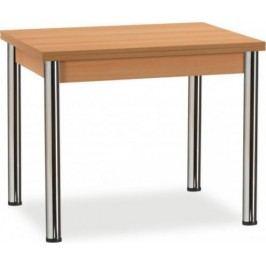 MIKO Jídelní stůl Kniha chrom Jídelní stoly