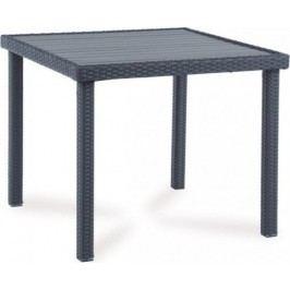 Autronic Zahradní stůl BNZ-090 BR - hnědá + kupón KONDELA10 na okamžitou slevu 10% (kupón uplatníte v košíku)