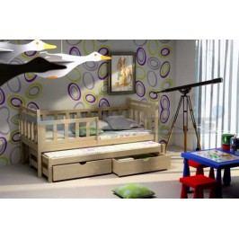 Vomaks Dětská postel s výsuvnou přistýlkou DPV 004 200 cm x 90 cm Barva bílá + kupón KONDELA10 na okamžitou slevu 10% (kupón uplatníte v košíku)