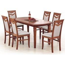 Halmar Jídelní stůl Fryderyk 160/240 ořech tmavý + kupón KONDELA10 na okamžitou slevu 10% (kupón uplatníte v košíku)
