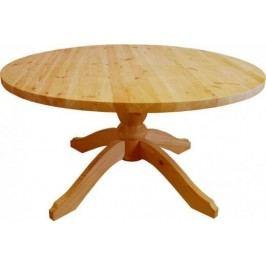 Unis Stůl dřevěný 00446 kulatý kód 00445 pr.
