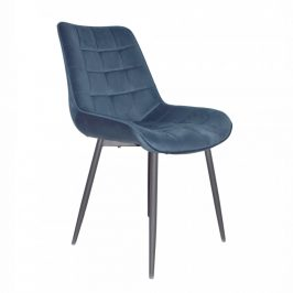 Tempo Kondela Židle SARIN - modrá/černá