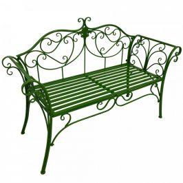Tempo Kondela Zahradní lavička ETELIA, zelená