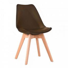 Tempo Kondela Židle BALI 2 NEW - tmavě hnědá/buk