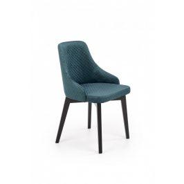 Halmar Jídelní židle TOLEDO 3 černá/Monolith 37