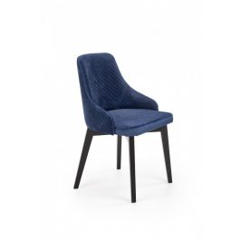Halmar Jídelní židle Toledo 3 - černá/Monolith 77 Židle do kuchyně