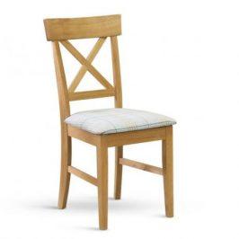 Stima Dřevěná židle Oak l834 čalouněná - masiv dub