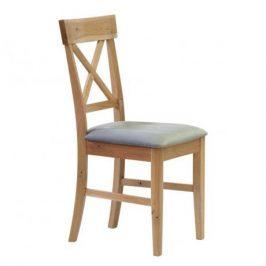 Stima Dřevěná židle Mary čalouněná - dub sukatý