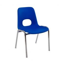 Alba Dětská plastová židlička HELENE MEDIA Výška sedu 38 cm