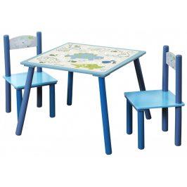Kesper Dětský stůl s židlemi Dino DSKE0410