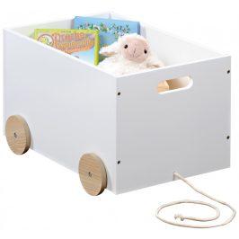 Kesper Dětský vozík na hračky Scandi UBKE0423
