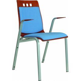 Alba Konferenční židle Berni čalouněná - s područkami