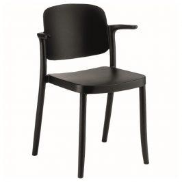 Alba Plastová židle PLAZA - s područkami