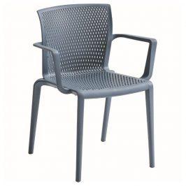 Alba Plastová židle SPIKER - s područkami Židle do kuchyně