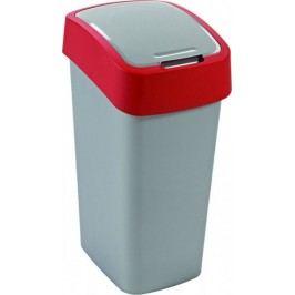 Curver Odpadkový koš FLIPBIN 50L - červený