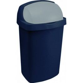 Curver Odpadkový koš ROLL TOP 50L - modrý