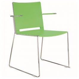Alba Konferenční židle Filo plastová - s područkami