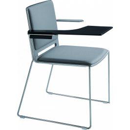 Alba Konferenční židle Filo čalouněná - s područkami