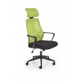 Halmar Kancelářská židle VALDEZ - zelená/černá