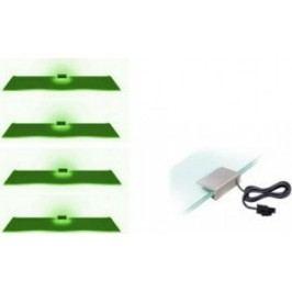 Cama Osvětlení 4 LED - zelená