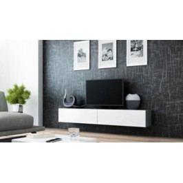 Cama Televizní stolek VIGO 180 - šedá/bílá