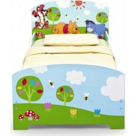Forclaire Dětská dřevěná postel Medvídek Pú