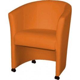 Tempo Kondela Křeslo ELIZA - oranžové