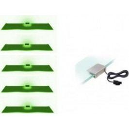 Cama Osvětlení 5 LED - zelená
