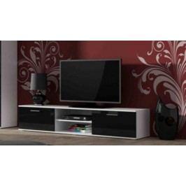 Cama Televizní stolek SOHO 180 - bílá/černá