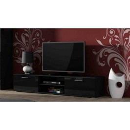 Cama Televizní stolek SOHO 180 - černá/černá