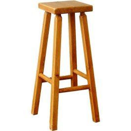 Unis Barová dřevěná židle 00502