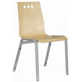Alba Konferenční židle Berni čalouněná - bez područek