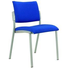 Alba Konferenční židle Square šedý plast