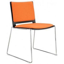 Alba Konferenční židle Filo čalouněná - bez područek
