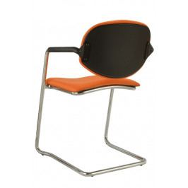 Alba Konferenční židle Wendy čalouněná cantilever