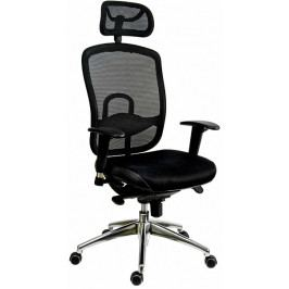 Antares Kancelářská židle Oklahoma PDH černá síť/černá látka