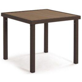 Autronic Zahradní stůl BNZ-090, hnědá