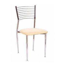 Tempo Kondela Jídelní židle ZAIRA - béžová Židle do kuchyně