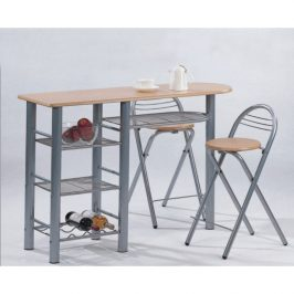 Tempo Kondela Barové židle + barový pult, BOXER