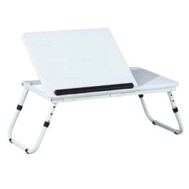 Tempo Kondela Stolek na notebook EVALD, bílý