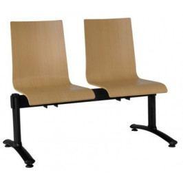 Antares Dřevěný multisedák Elsi 102 LN (LG) - dvojsedák Konferenční židle