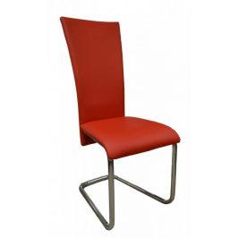 Falco Jídelní židle FA-245 červená Židle do kuchyně