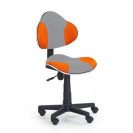 Falco Židle QZY-G2-šedo oranžová