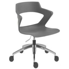 Antares Konferenční židle 2160 PC Aoki ALU - nečalouněná Kancelářská křesla