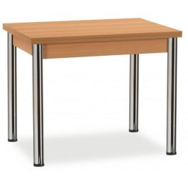 MIKO Jídelní stůl Kniha chrom