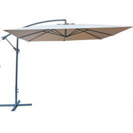 Rojaplast Slunečník kovový 8080 - 270 cm - béžový