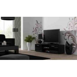Cama Televizní stolek SOHO 140 - černá/černá